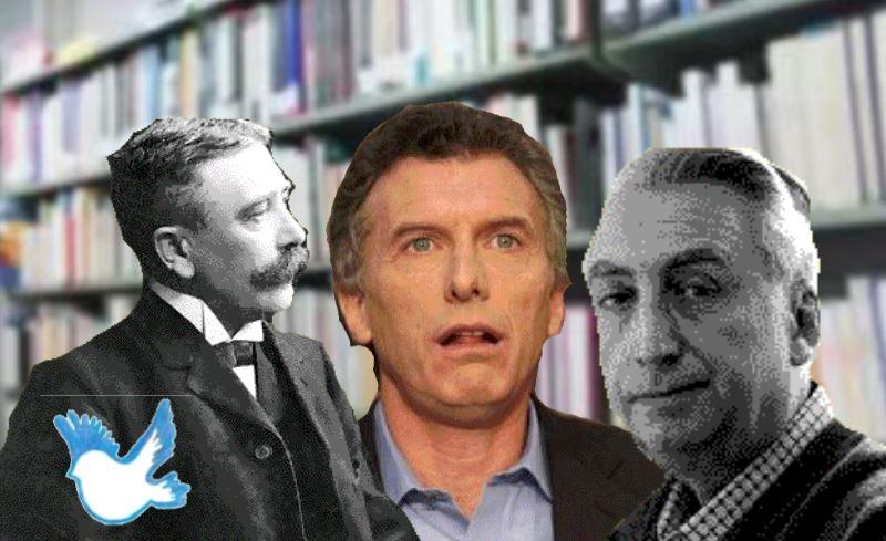 Ferdinand de Saussure, Mauricio Macri y Roland Barthes.
